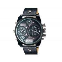 CAGARNY 6822  наручные часы с календарем  (черный)