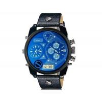 CAGARNY 6822  Спорт наручные часы с календарем дисплей (черный   синий)