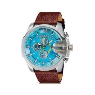 CAGARNY 6839  Спорт наручные часы с календарем (коричневый   синий)
