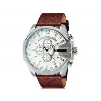 CAGARNY 6839 спортивные часы с календарем (коричневый   белый)