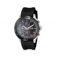 CURREN 8165 мужские аналоговые наручные часы с силиконовой лентой (черный)