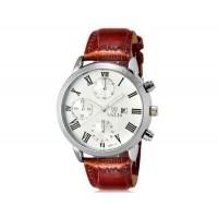 VALIA 8601-3 Men`s  наручные часы с календарем  (коричневый)
