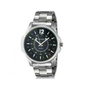 DINIHO 1105G Men`s Модный большой круглый Циферблат аналоговые наручные часы