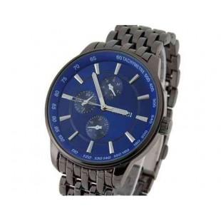 SINOBI S9268G круглые стальные  мужские наручные часы