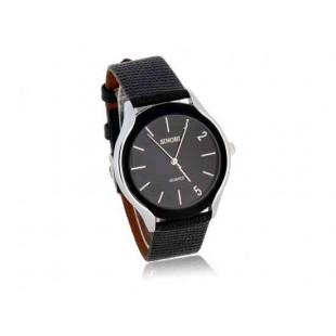 SINOBI 9220 мужские аналоговые часы BLACK (черный)