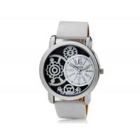 Valiia мужские полосы Дизайн Аналоговые часы (белый)