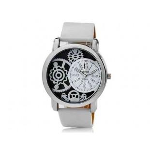 Valiia Мужская полосы Дизайн Аналоговые часы (белый)