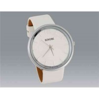 SINOBI 9392 Водонепроницаемые стильные часы (white, белый)