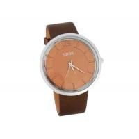 SINOBI 9392 Водонепроницаемые стильные часы (коричневый)