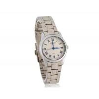 SINOBI Женщинские Водонепроницаемые Аналоговые часы (белый)
