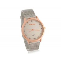WoMaGe 471 водостойкой Стильные аналоговые часы с Сплав ремень L (золото)