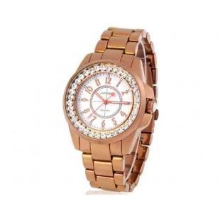 SINOBI 9390 женские часы из нержавеющей стали GOLD (золото)