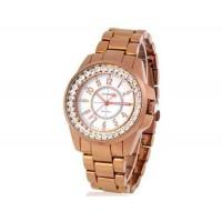 SINOBI 9390 женские часы из нержавеющей стали (золото)