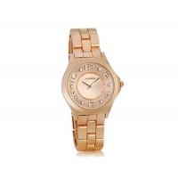 Sinobi 9441 Женские стильный часы с кварцевым механизмом (Champagne)