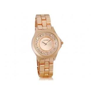 Sinobi 9441 Женские стильный часы с кварцевым механизмом (Champagne, шампанское)