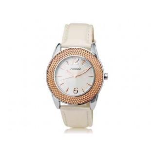SINOBI 9455 Женские аналоговые часы White Gold (Белое золото)