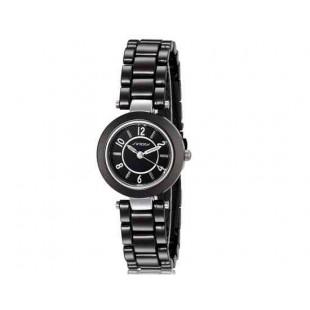 SINOBI 9399 Женские часы со стальным браслетом (черный)