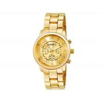 KingSky 8803 женщин ` s аналоговые часы из нержавеющей стали браслет (золото) м.