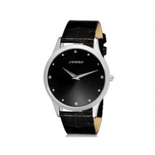 SINOBI 9141 женские наручные кварцевые часы (черный)
