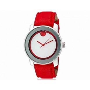 SINOBI S8109G женские часы с кажаным ремешком Red (красный)