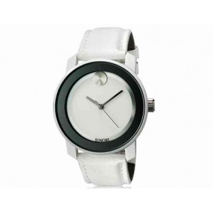 SINOBI S8109G женские часы с кажаным ремешком White colour (белый)