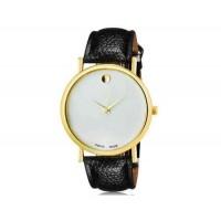 WoMaGe 1089 Женская модные Нет-цифровые весы аналоговые кварцевые наручные часы с искусственной кожаный ремешок (черный)