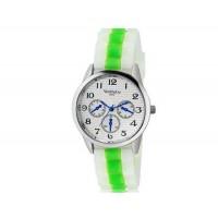 WoMaGe 9620 Женская модные Ретро стиль аналоговые наручные часы с силиконовой лентой (зеленый)