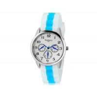 WoMaGe 9620 Женская модные Ретро стиль аналоговые наручные часы с силиконовой лентой (синий)