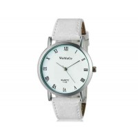 WoMaGe 1128 модные женская Аналоговый кварцевые наручные часы с римские цифры шкалы (белый)