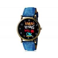 WoMaGe 1128 Женская & Студенческая Модные аналоговые наручные часы (синий)