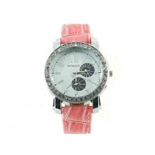 Womage 9346 Портативный наручные часы (розовый)
