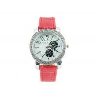 Womage 9346 Портативный наручные часы (красный)