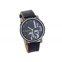 WoMaGe 9678-1 Женские PU Кожаный ремешок аналоговые часы (черный)