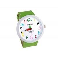 WOMAGE Number Dial карандашом Женские руки аналоговые часы (зеленый)
