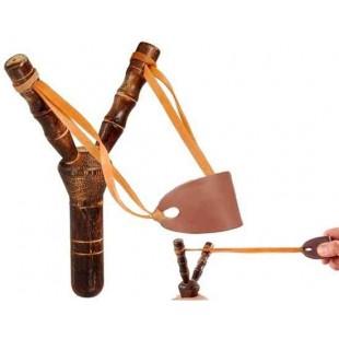 Деревянная рогатка для учебной стрельбы