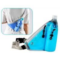 Многофункциональный Модные Отдых талии сумка Открытый Крест Bag (синий)