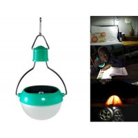Открытый Портативный водонепроницаемый Солнечный свет палаточного городка лампы (Зеленый)