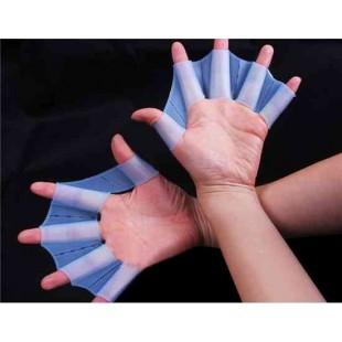 Принц лягушка Design Силиконовые Плавание перепончатые перчатки размер S