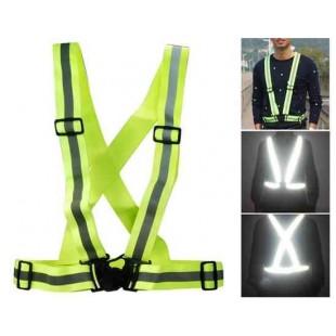 Светоотражающий жилет / жилет / защитная одежда (зеленый)