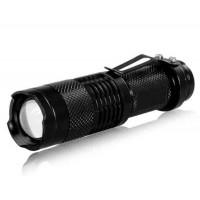 светодиодный фонарик с регулируемым фокусом  NF555