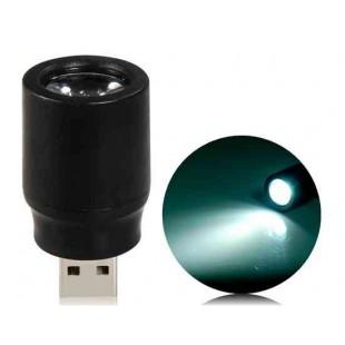 Портативный USB светодиодная вспышка света (синий)