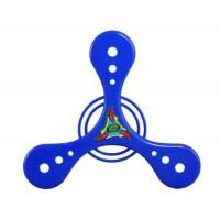 Треугольник Дизайн пластиковых Летающий диск летающая тарелка игрушка Sz M (синий)