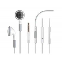 3.5 мм наушники с регулятором громкости для iPhone, iPod и iPad (белый)