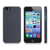 Ultra Slim матовый Защитный чехол для iPhone 5S / 5 (черный)