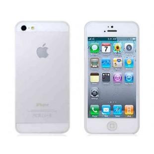 Ультра тонкий матовый защитный чехол для iPhone 5S / 5 (прозрачный)