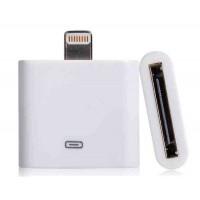 Конвертер 30pin - 8pin для iPhone 5 (белый)