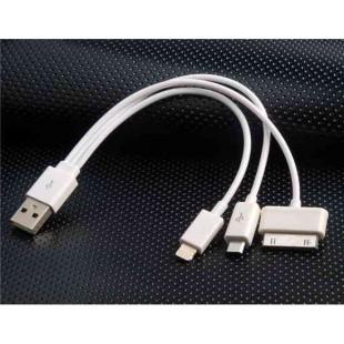 20 см от 1 до 3 набор шнуров для продуктов Apple