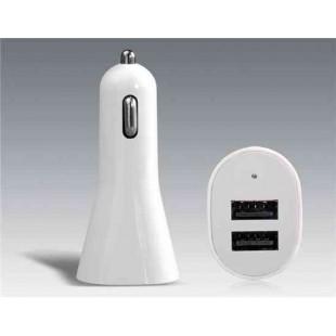 Bosen 3A Dual-порт USB Автомобильное зарядное устройство для iPhone, IPod, IPad, Samsung, Motorola и HTL сотовых телефонов