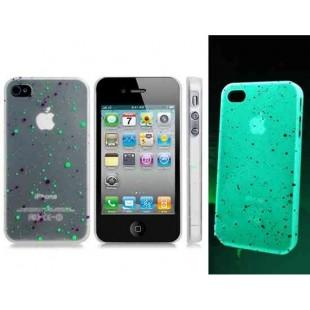 Светящийся в темноте чехол для iPhone 4 / 4S