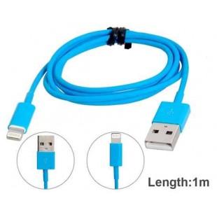 8-контактный кабель для зарядки и передачи данных длиной 1 метр для iPhone 5S / 5 / 5C
